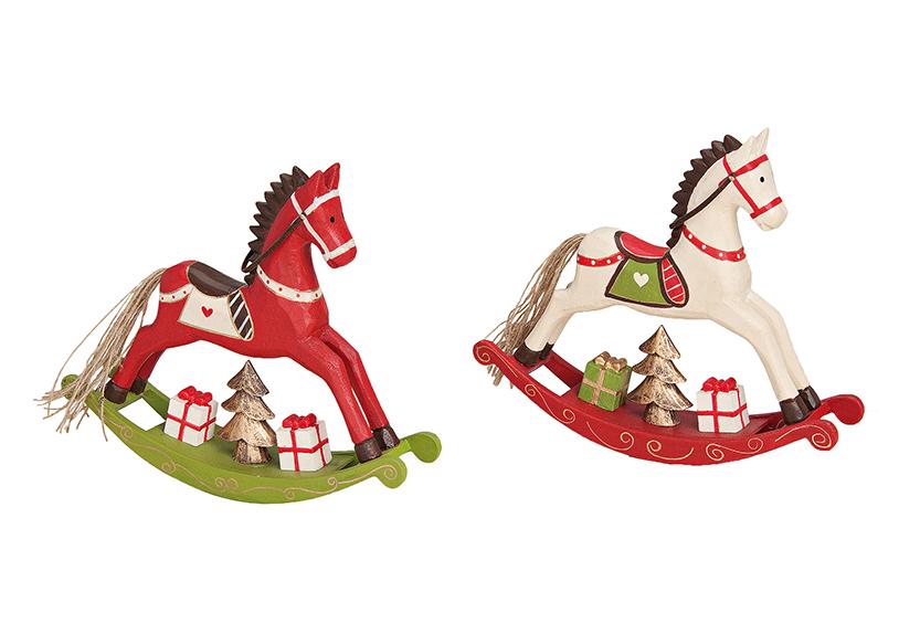 ROCKING HORSE WOOD 2-ASS.21X19 CM