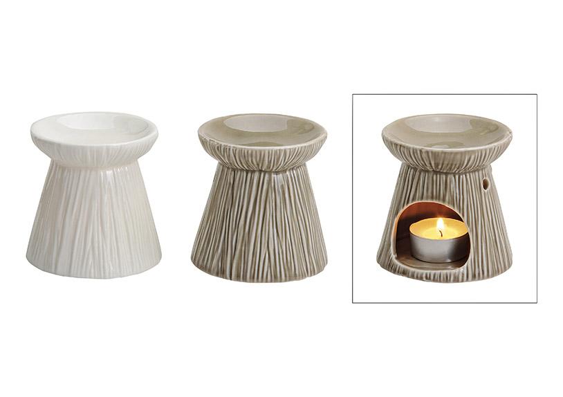 aromalampa 8x9 cm, keramika - 3 druhy