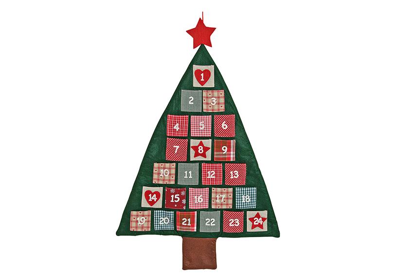 adventní kalendář TREE 90 cm, filc