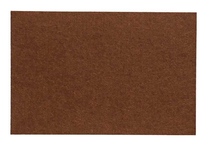 filcové prostírání BROWN 45x30 cm