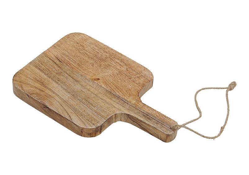 krájecí prkénko z mangového dřeva 29x18x3 cm