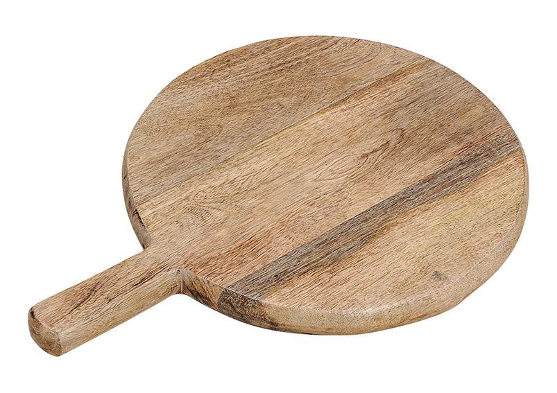 krájecí prkénko z mangového dřeva 34x25x2 cm