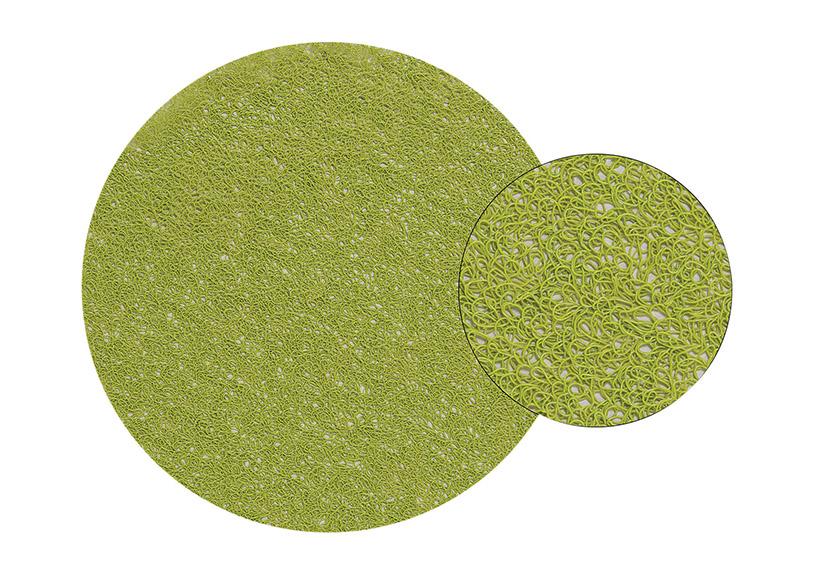 plastové prostírání GREEN ⌀38 cm