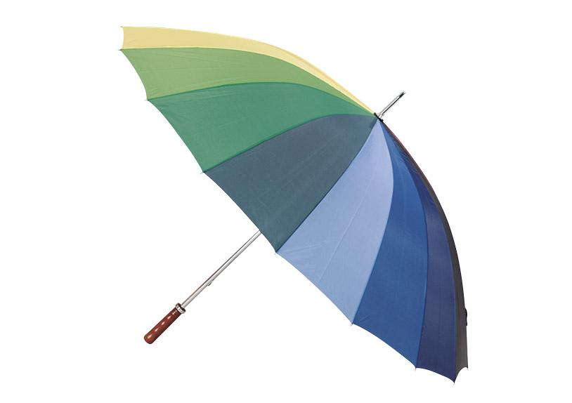 deštník JUMBO RAINBOW ⌀130 cm