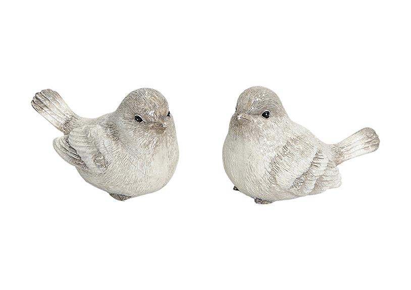 ptáček 6x3x4 cm, polyresin - 2 druhy
