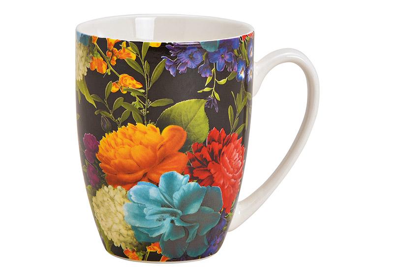 porcelánový hrníček FLOWER 370 ml 12x10x8 cm