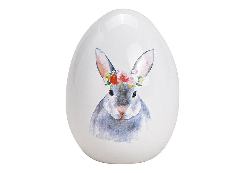 keramické vajíčko RABBIT 7x9x7 cm