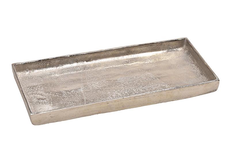 hliníkový tác SILVER 31x2x14 cm