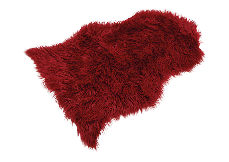 umělá kožešina BORDEAUX 90x60 cm, polyester