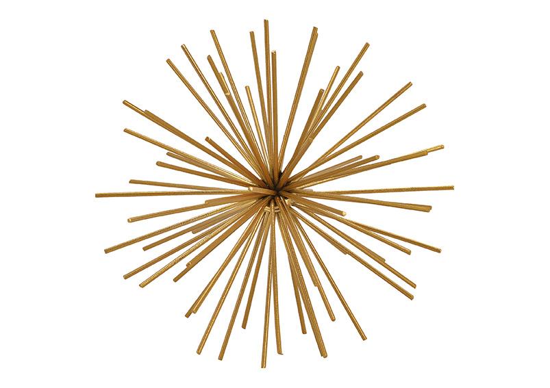 dekorační koule GOLD ⌀15 cm, kov