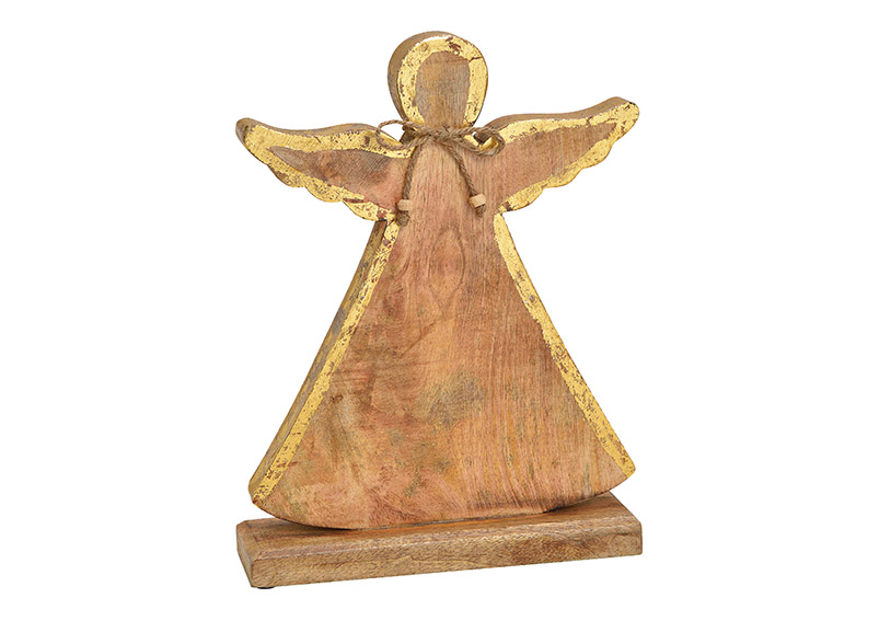 anděl 25x33x7 cm, dřevo