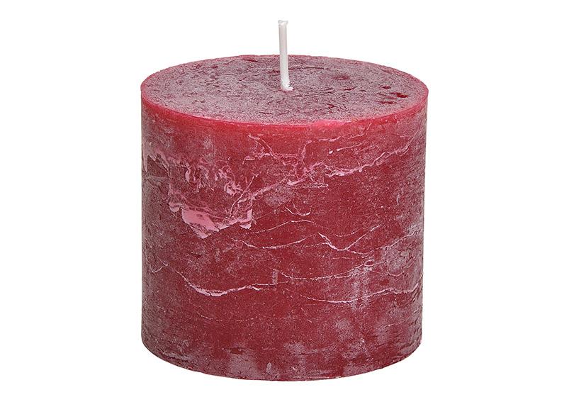 svíčka BORDEAUX 10x10x9 cm