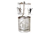 andělské zvonění ANGEL 6x6x15 cm, sklo a kov