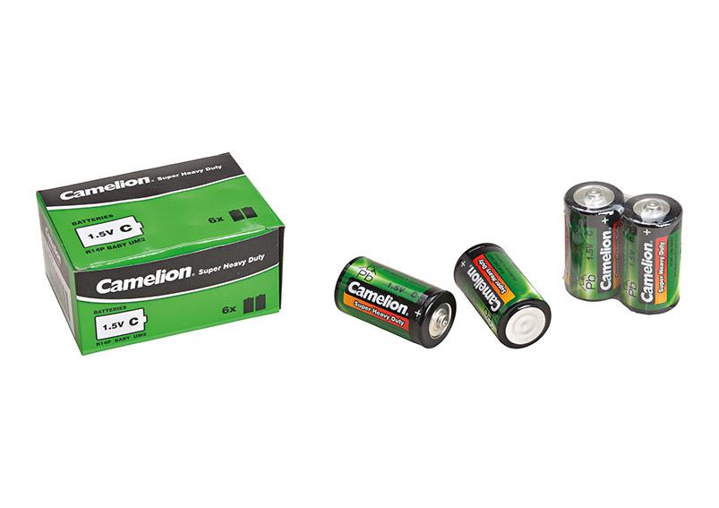 baterie Camelion baby 1,5V - 6 kusů v krabičce