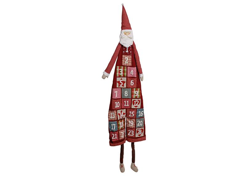adventní kalendář SANTA 180 cm, textil