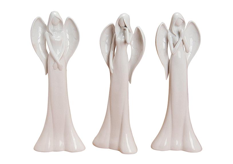anděl 40 cm, porcelán - 3 druhy