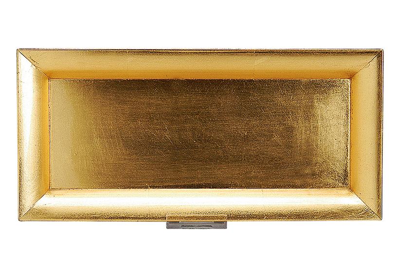 tác 36x17, plastový, barva zlatá