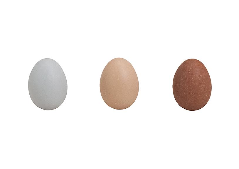 keramické vajíčko 6x8 cm - 3 druhy